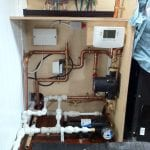 Picture of central heating system
