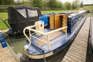 Picture of cruiser stern narrowboat