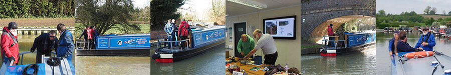 Narrowboat Skills Centre courses montage